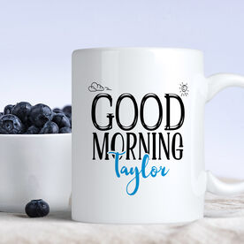 Good Morning Personalized Coffee Mug