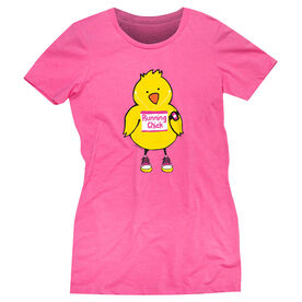 Women's Everyday Runners Tee Running Chick (Tall)