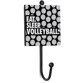 Volleyball Medal Hook - Eat. Sleep. Volleyball.