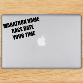 Custom Race Removable GoneForaRunGraphix Laptop Decal