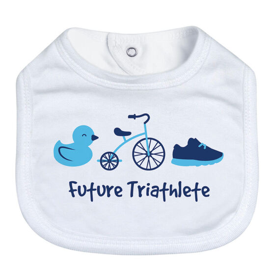 Triathlon Baby Bib - Future Triathlete