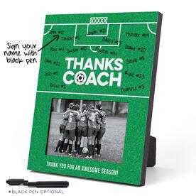 Soccer Photo Frame - Coach (Autograph)
