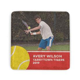 Tennis Stone Coaster - Team Photo with Ball