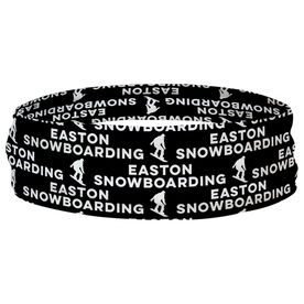 Snowboarding Multifunctional Headwear - Custom Team Name Repeat RokBAND