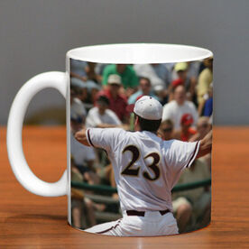 Baseball Coffee Mug Custom Photo