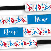 Gymnastics Juliband No-Slip Headband - Personalized Gymnastics Pattern