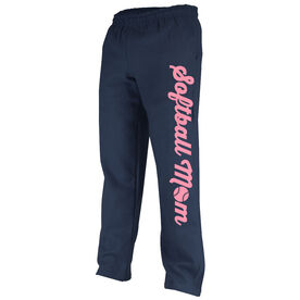Softball Fleece Sweatpants Softball Mom
