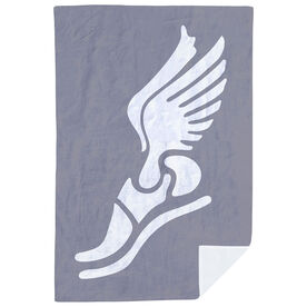 Track & Field Premium Blanket - Winged Foot