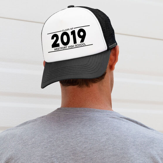 Personalized Trucker Hat - Graduation