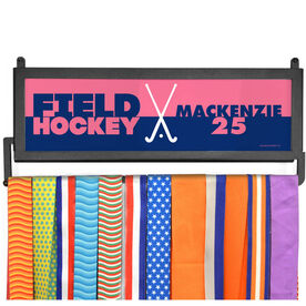 AthletesWALL Medal Display - Personalized Sticks Color Block
