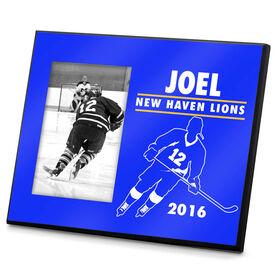 Hockey Personalized Photo Frame Hockey Player