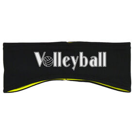 Volleyball Reversible Performance Headband Volleyball With Ball