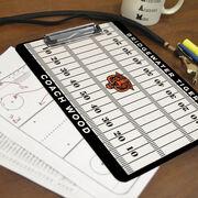 ChalkTalk Football Custom Coaches Dry Erase Clipboard