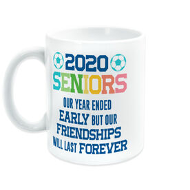 Soccer Coffee Mug - 2020 Year Ended Early But Friendships Last Forever
