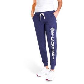 Girls Lacrosse Women's Joggers - Girls Lacrosse Word