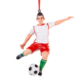 Soccer Ornament - Soccer Player (Boy)