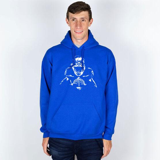 Football Hooded Sweatshirt - Santa Player