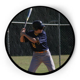 Baseball Circle Plaque - Custom Photo