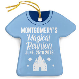 Personalized Porcelain Ornament - Family Reunion Magical Shirt