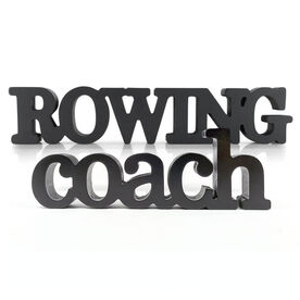 Crew Coach Wood Words