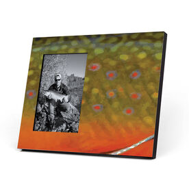 Fly Fishing Photo Frame - Brook Trout Without Label
