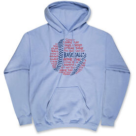 Baseball Standard Sweatshirt - Baseball Words
