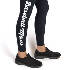 Baseball Leggings - Baseball Mom