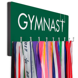Gymnastics Hooked on Medals Hanger - With Rings