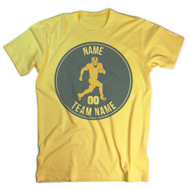 Vintage Football T-Shirt - Personalized Running Back
