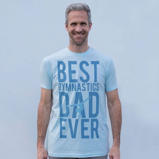 Vintage Gymnastics T-Shirt - Best Dad Ever