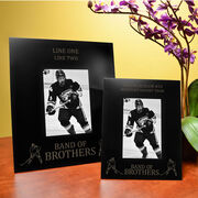 Hockey Engraved Picture Frame Band of Brothers