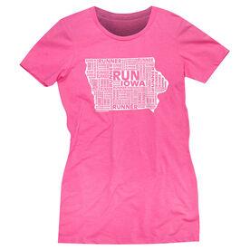 Women's Everyday Runners Tee Iowa State Runner
