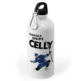 Hockey 20 oz. Stainless Steel Water Bottle - Dangle Snipe Celly