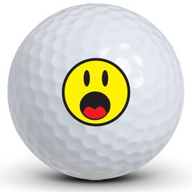 Scared Face Golf Balls