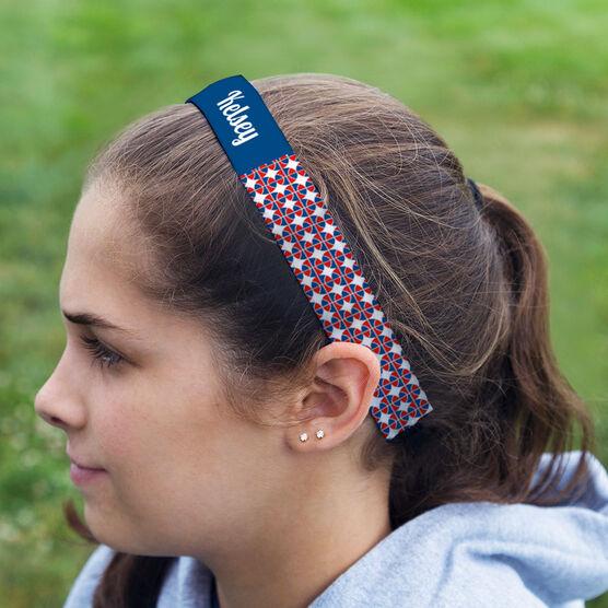 Basketball Juliband No-Slip Headband - Personalized Basketball Pattern