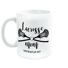 Guys Lacrosse Coffee Mug - Lacrosse Mom