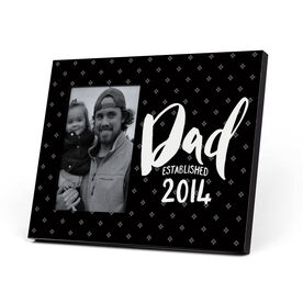 Personalized Photo Frame - Dad Established