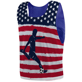 Soccer Pinnie - American Soccer Player