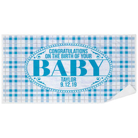 Personalized Premium Beach Towel - Congrats Baby