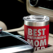 Swimming 20 oz. Double Insulated Tumbler - Best Mom Ever