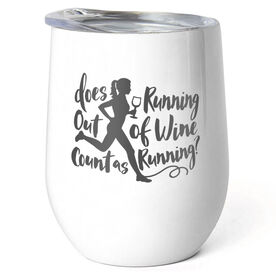 Running Stainless Steel Wine Tumbler - Does Running Out of Wine Count as Running?
