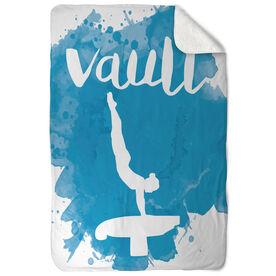 Gymnastics Sherpa Fleece Blanket - Vault