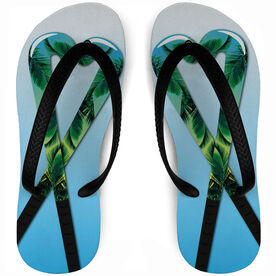 Field Hockey Flip Flops Let's Stick Together