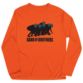 Football Long Sleeve Performance Tee - Band of Brothers