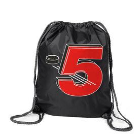 Hockey Sport Pack Cinch Sack - 5 Hole