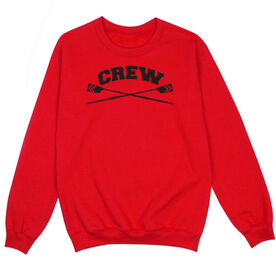 Crew Crew Neck Sweatshirt - Crew Crossed Oars Banner
