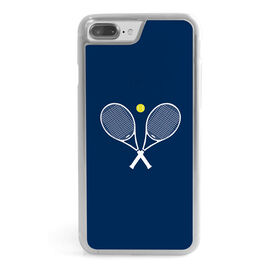 Tennis iPhone® Case - Crossed Rackets