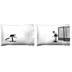 Field Hockey Pillowcase Set - Go For The Goal