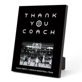 Basketball Photo Frame - Thank You Coach