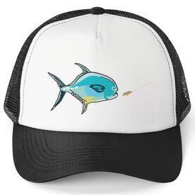 Fly Fishing Trucker Hat Permit Flats